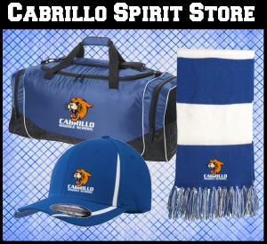 Cabrillo Spirit Store bag hat and scarf