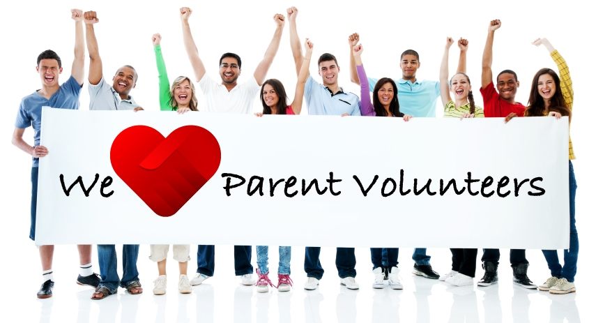 Parent Volunteers banner